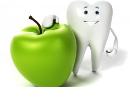 apple and tooth